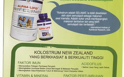 Testimoni Alpha Lipid Lifeline Baik Untuk Kesihatan