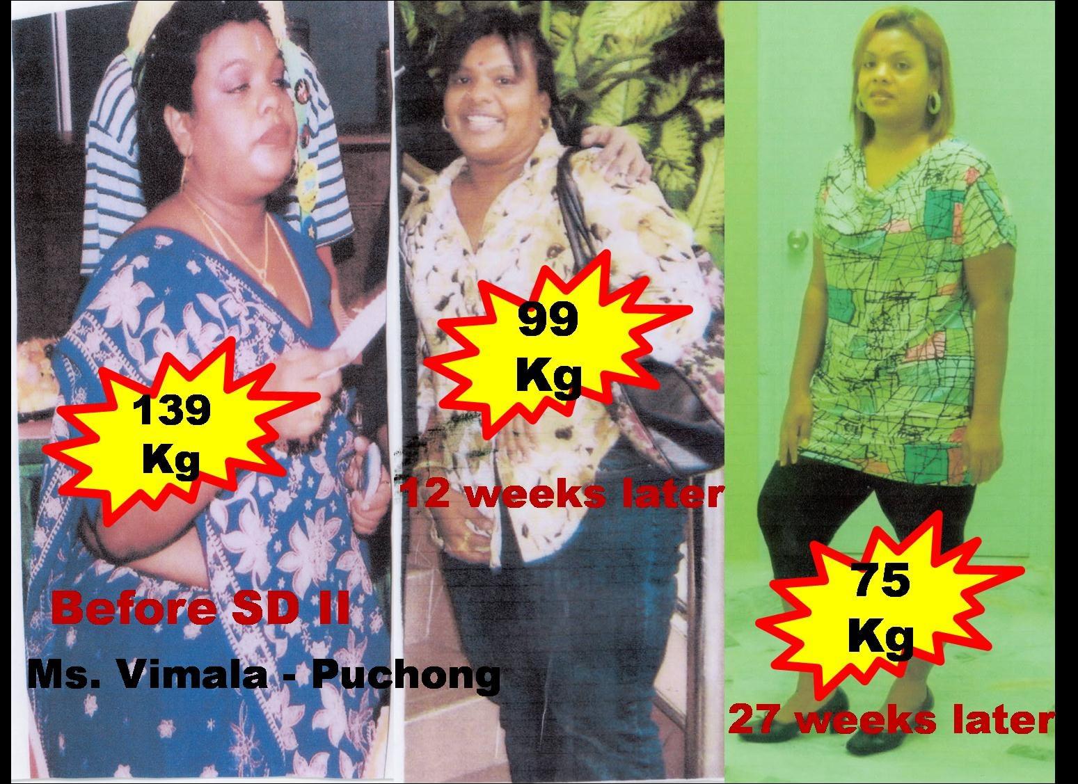 TESTIMONI TERBARU: berat asal 139kg dapat turunkan berat badan dalam masa 10 minggu menjadi 75kg