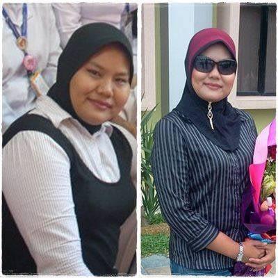 TESTIMONI SLIM DIET 2: turun berat badan 12kg dalam masa 6 minggu