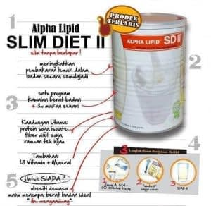 Formula Penurunan Dengan Alpha Lipid SDII