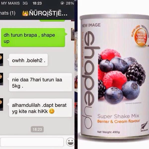 Diet Shape Up New Image Bulan Puasa
